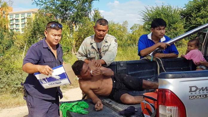 หนุ่มหาปลาเมา จมน้ำเฉียดตาย ญาติปั้มหัวใจฉุดชีวิตรอด