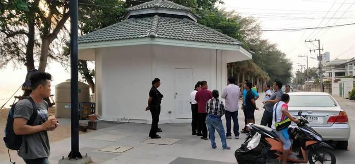 เมืองพัทยาเตรียมเปิดใช้ห้องน้ำสาธารณะ เขตปลอดหาดดงตาลจอมเทียน เร็วๆนี้