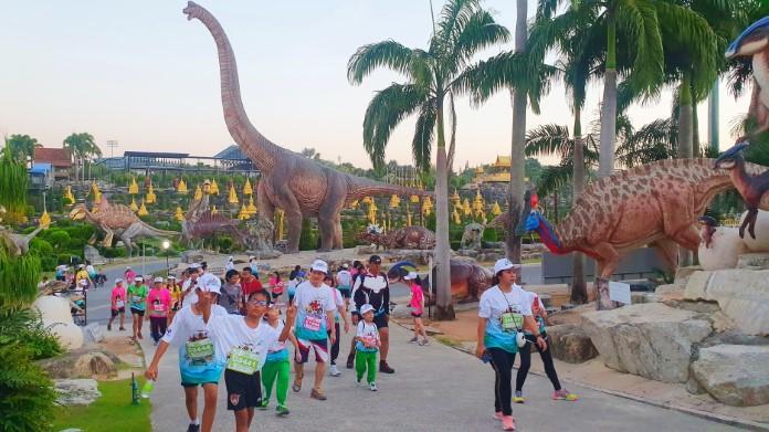 นักวิ่งจากทั่วประเทศ  3,500 คน เปิดประสบการณ์สุดเอ็กซ์คลูซีฟ วิ่งผจญภัยในหุบเขาไดโนเสาร์