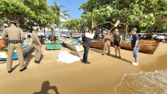 นักท่องเที่ยวต่างชาติจมน้ำเสียชีวิต ชายหาดจอมเทียน
