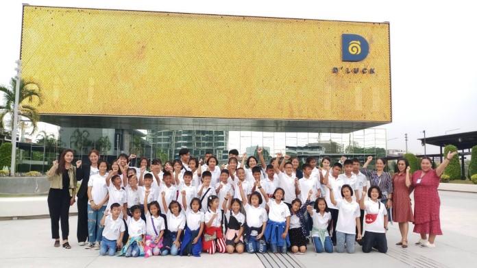KAAN SHOW Pattaya เปิดให้เด็ก จากสถานคุ้มครองสวัสดิภาพเด็กบ้านเอื้ออารี กว่า 50 คน เข้าชม
