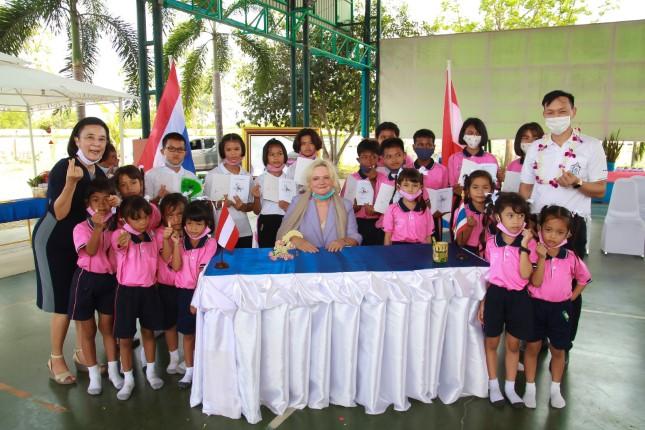 ทูตออสเตรียประจำประเทศไทย เข้าเยี่ยมชมสถานคุ้มครองสวัสดิภาพเด็กบ้านเอื้ออารี