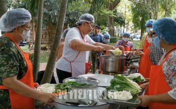 เทศบาลเมืองหนองปรือ  เดินหน้าโครงการประกอบอาชีพเพื่อสุขภาพสำหรับผู้สูงอายุ